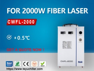 Air cooled chiller for fiber laser welding machine